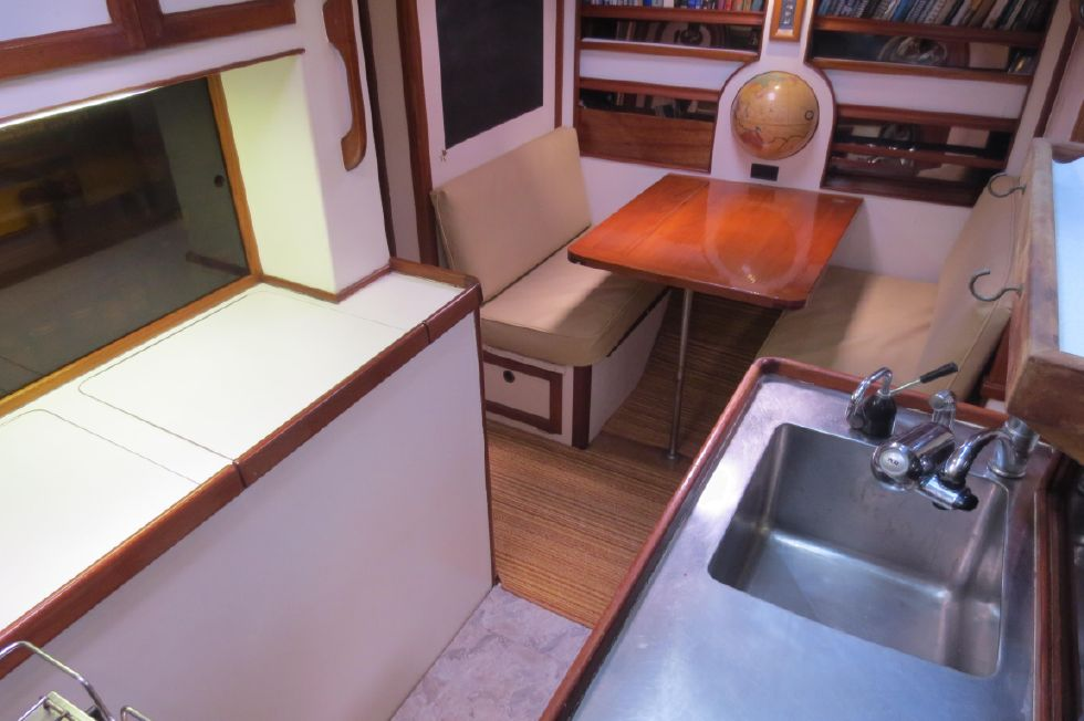 1984 Kanter Atlantic Pilothouse Cutter - Kanter 50 From Galley