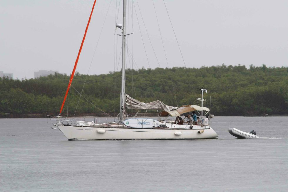 1986 Kaufman Cutter - Kaufman 49 Returning from Bahamas August 2018