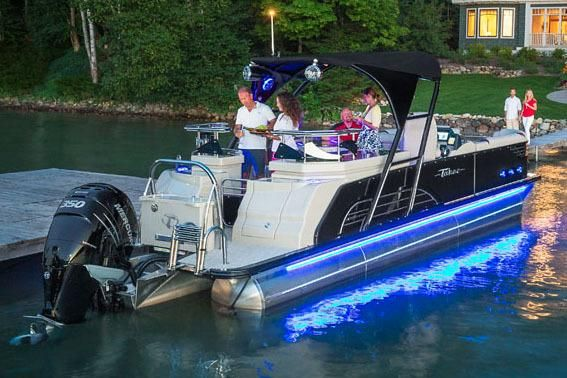 2018 Tahoe Pontoon Vision Entertainer - 27'