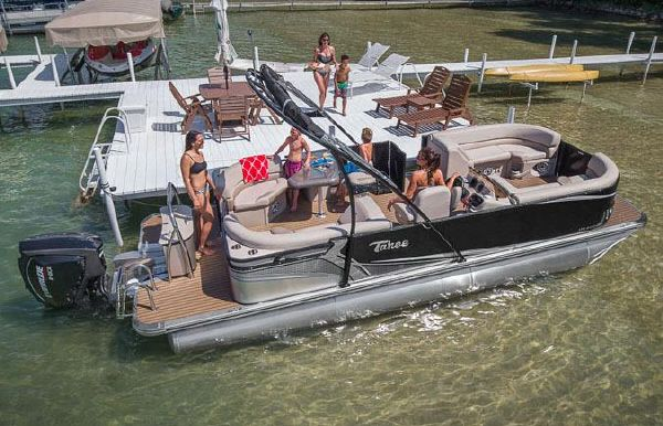 2018 Tahoe Pontoon LTZ Entertainer - 22'