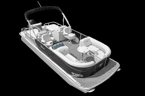 2018 Tahoe Pontoon LTZ Rear Lounge - 26'