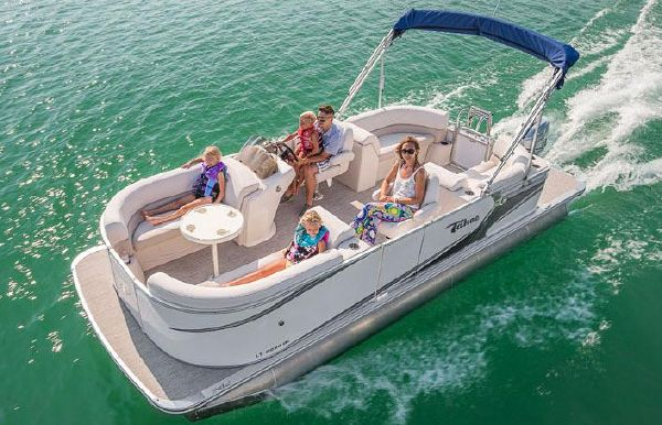 2018 Tahoe Pontoon LT Quad Lounge - 20'