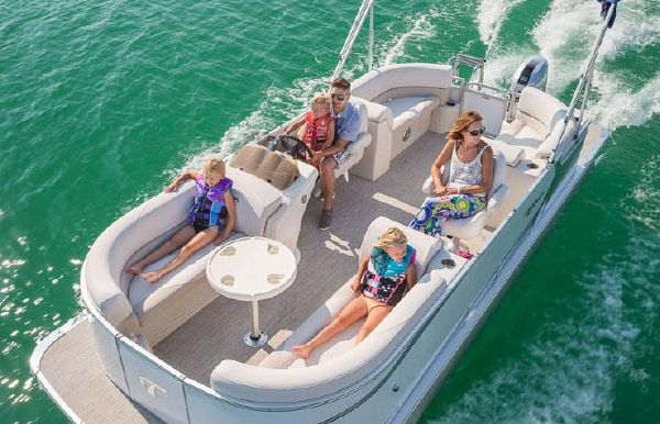 2018 Tahoe Pontoon LT Quad Lounge - 24'