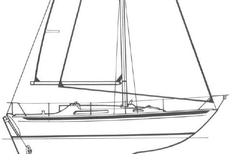1983 Camper & Nicholsons Sloop - 31 Camper & Nicholson Sloop Edwards Yacht Sales Line Drawings
