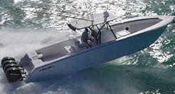 2017 Seahunter 39 Quad Mercury 350