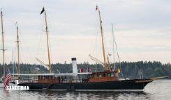 1901 Custom Pusey & Jones Steam Yacht