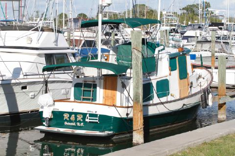 1988 Eagle 32 Pilothouse Trawler