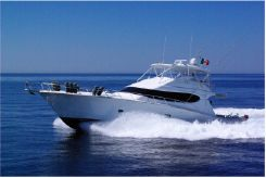 2009 Hatteras 68 Convertible Open Bridge