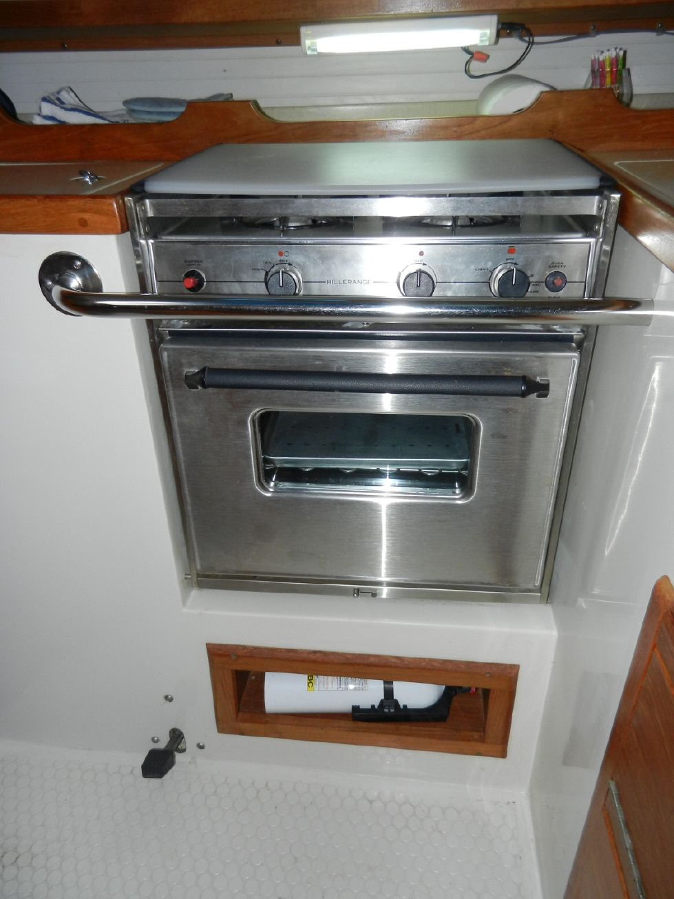 Propane Stove with oven