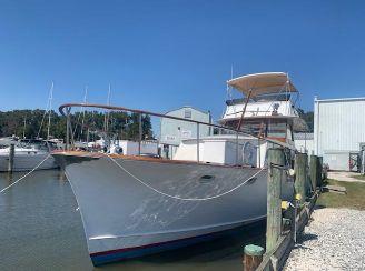 1961 Stephens 47 Flush Deck Motor Yacht