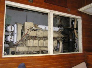 1989 Marine Trader Marine Trading CPMY (Yachtfish) - Clean Engine Room