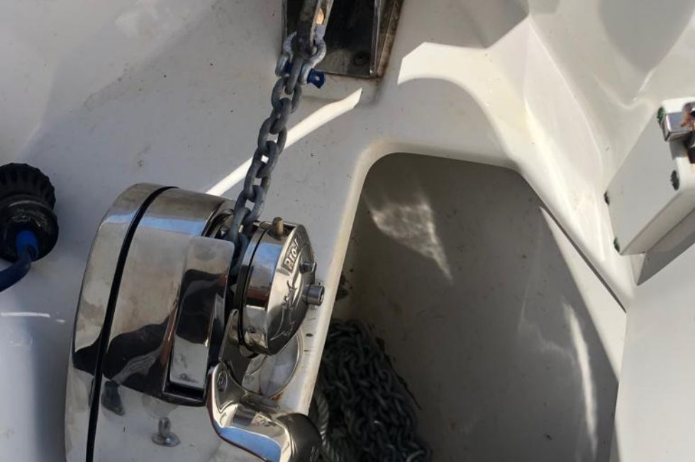 New Windlass and anchor line 2019