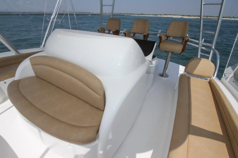 2019 Viking 62 Convertible - Deck 1 - Bridge Seating