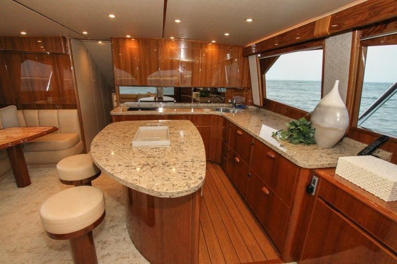 2019 Viking 62 Convertible - Galley