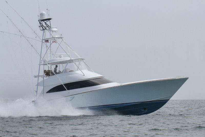 2019 Viking 62 Convertible - Profile 3