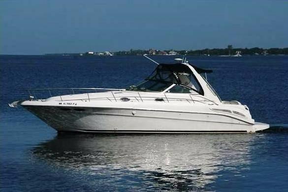 Sea Ray 380 Sundancer - main image