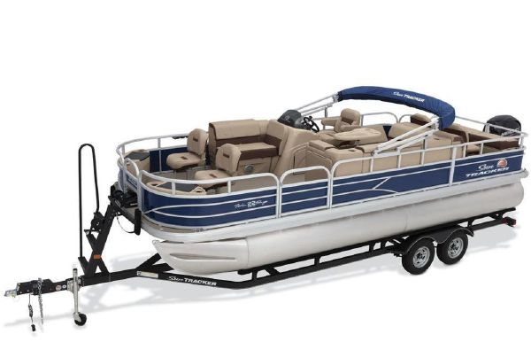2018 Sun Tracker Fishin' Barge 22 DLX