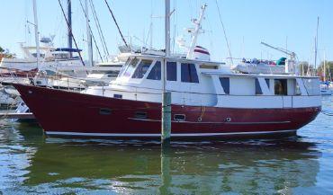 1988 Transworld Fantail 50 Trawler