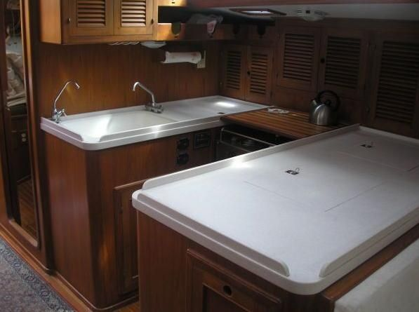 1986 Kaufman Cutter - Kaufman 49 Galley