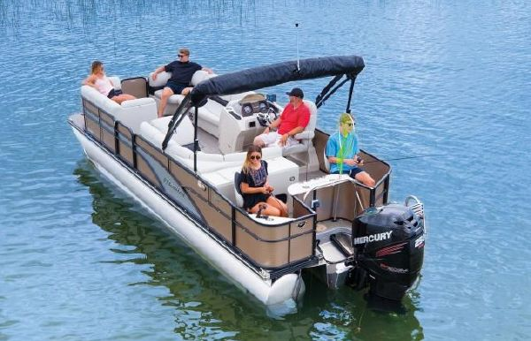 2018 Manitou 22 Encore Pro Angler Full Front