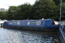 1997 Narrowboat 50' P.M Buckle Cruiser Stern