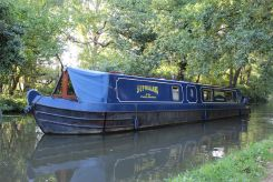 1997 Narrowboat 50' P.M Buckle Cruiser Stern