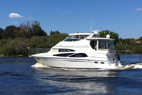 2005 Carver 466 Motor Yacht - Movin' On in route