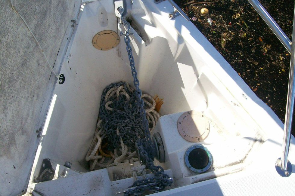 Anchor Locker and Windless