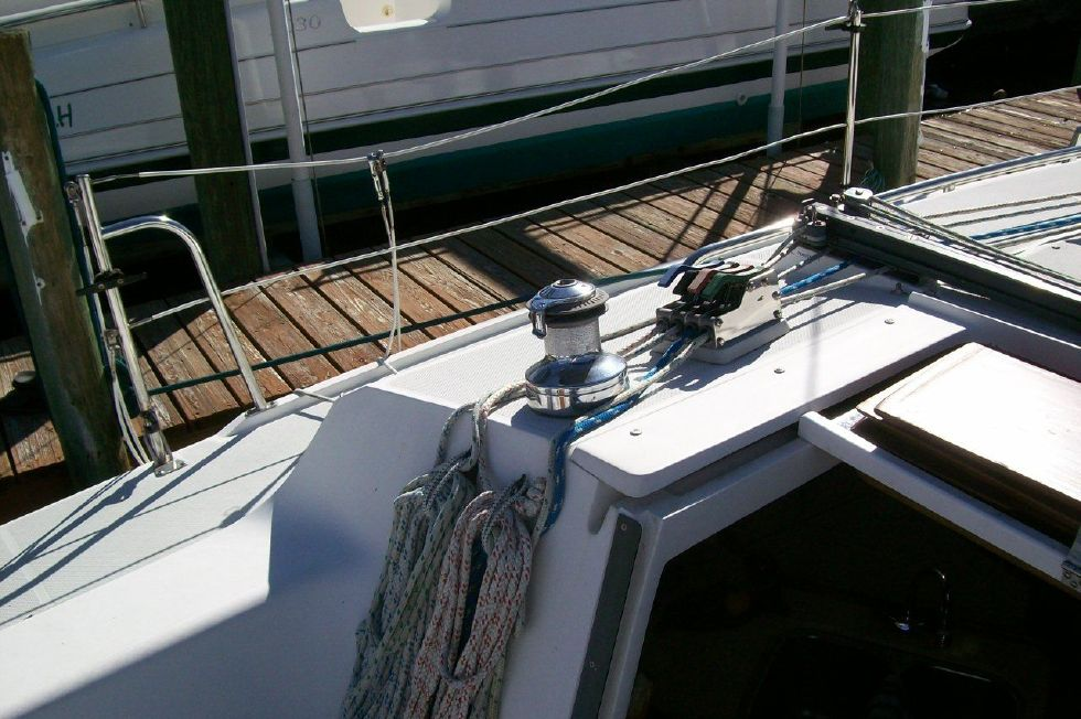 1995 Catalina 320 wing keel - Port