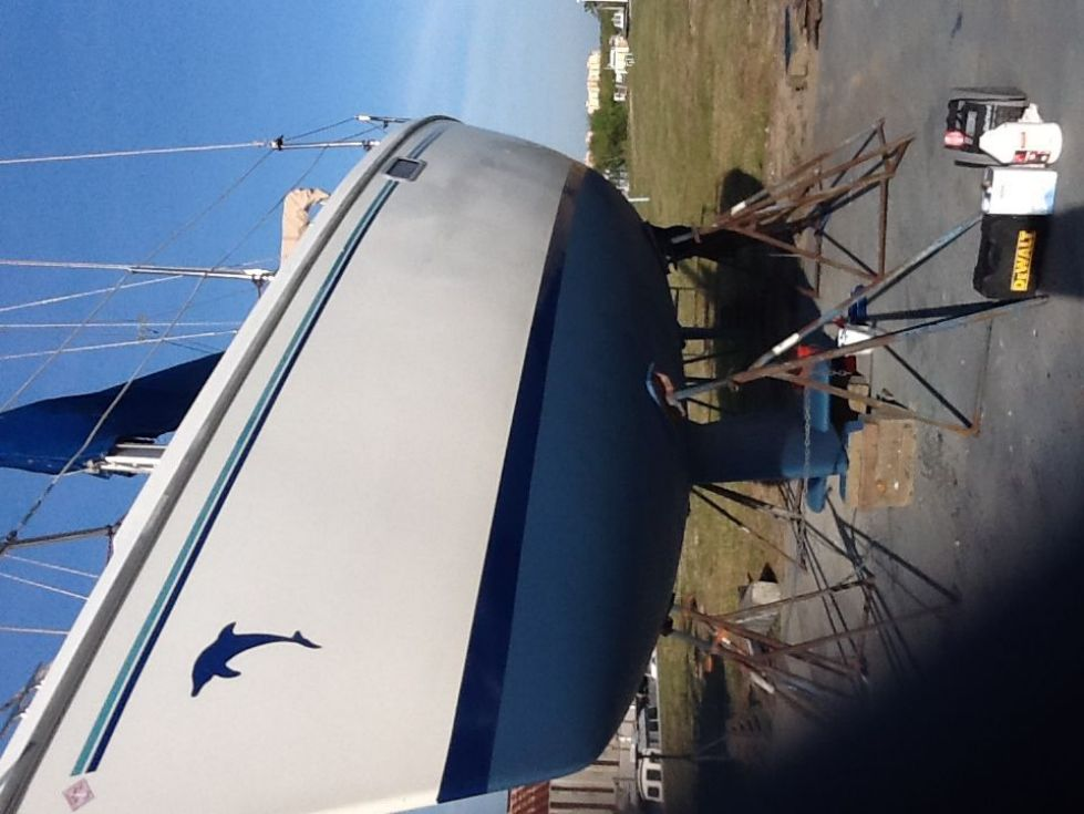 1995 Catalina 320 wing keel