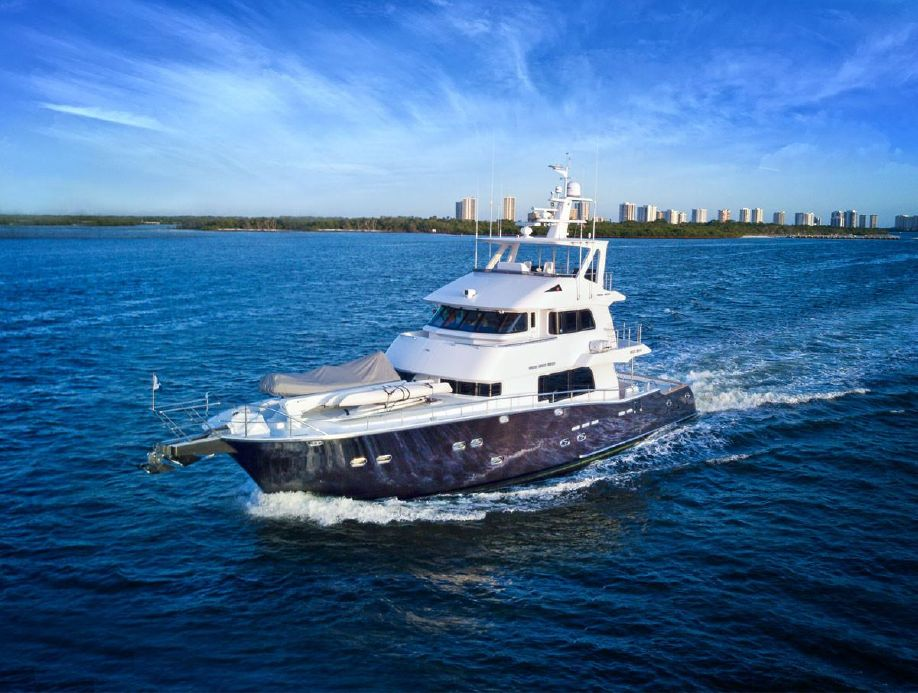 2009 Nordhavn 75 Expedition Yachtfisher Motor Yacht for sale - YachtWorld