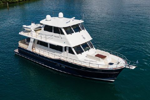 2020 Grand Banks 57 Europa - Profile Starboard