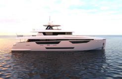 2022 Johnson Motor Yacht w/On Deck Master
