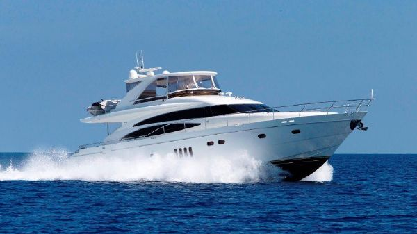 Princess 70 VSC Flybridge Profile