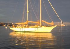 1974 Custom Staysail Schooner