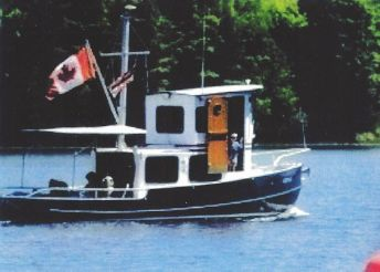 2004 Custom Steel 27 Tug with Trailer