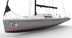 2020 Mestral Marine Works 40 Racer