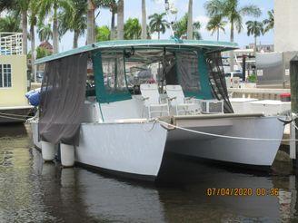 1971 Custom Catamaran