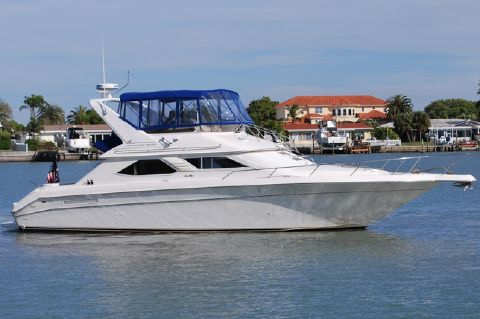 1997 Sea Ray 44 Express Bridge - Exterior