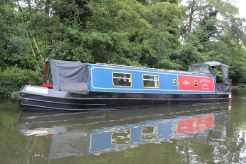 2001 Narrowboat 40' G & J Reeves Cruiser Stern