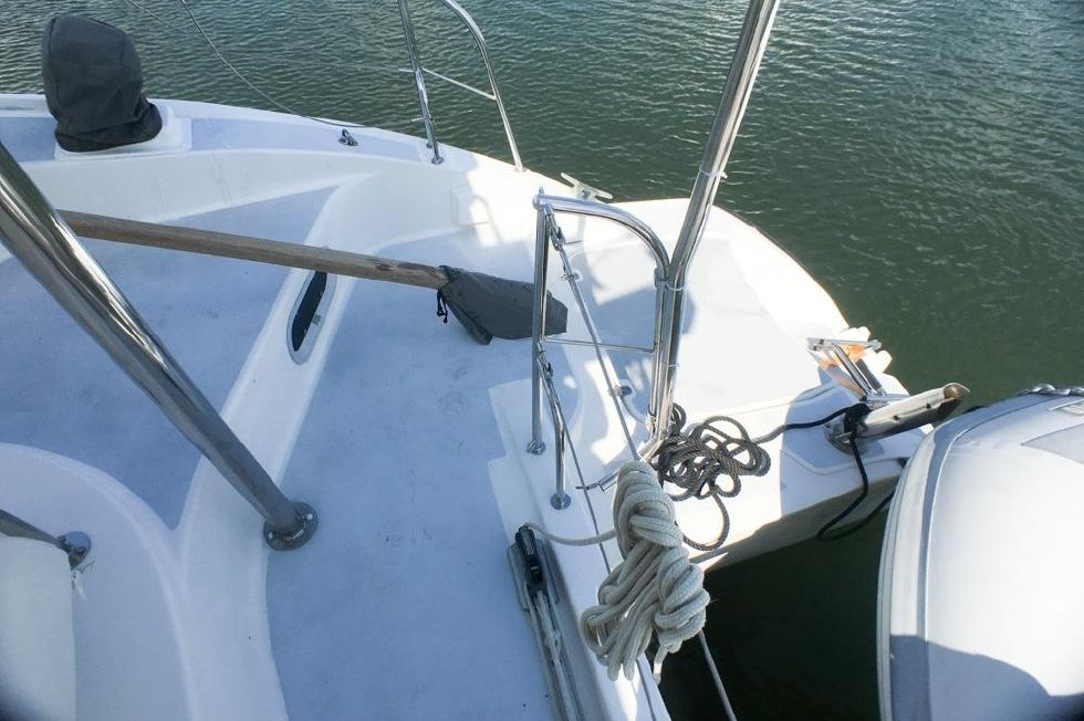 2003 Fountaine Pajot Lavezzi Starboard Tiller