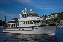 2007 Alaskan Custom Skylounge Pilothouse