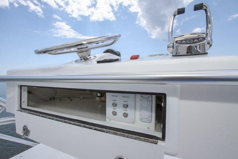 2020 Albemarle 36 Express - Helm / Electronics & Navigation 8 - Tower Controls