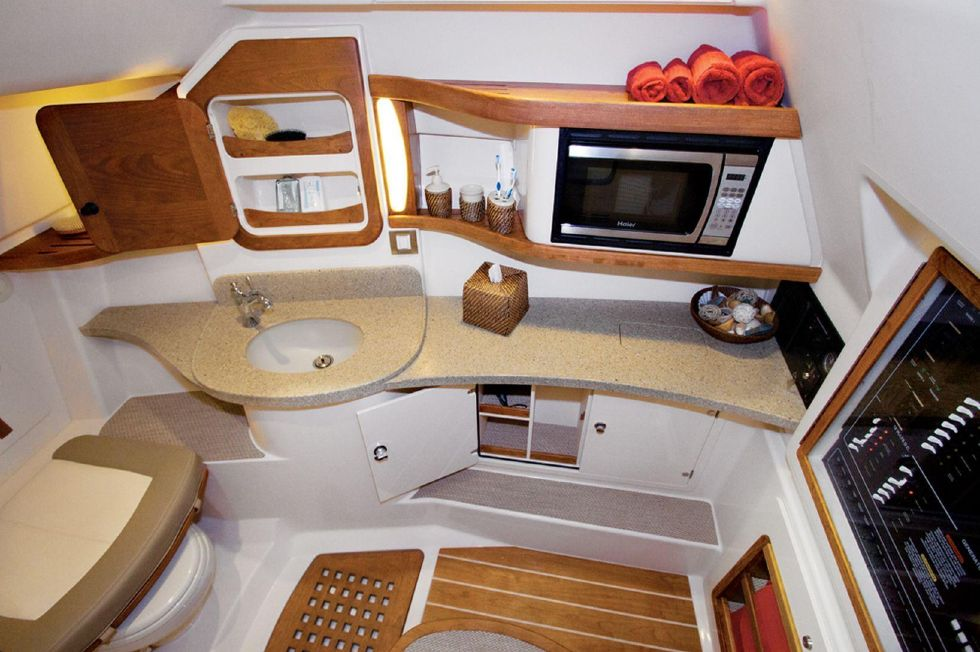 2016 Grady-White 375 Freedom - Galley - Sistership