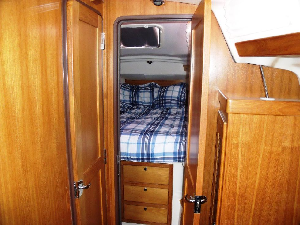 Forward Master Stateroom with Centerline Bed
