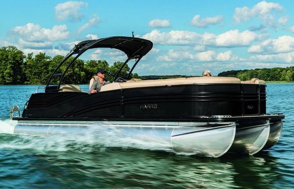 2018 Harris Grand Mariner CW 250 Twin Engine