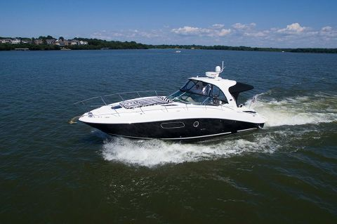 2009 Sea Ray 350 Sundancer - Port profile