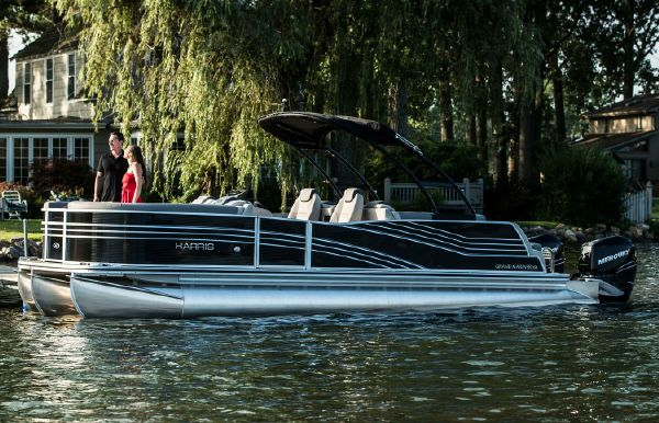 2018 Harris Grand Mariner SL 270 Twin Engine