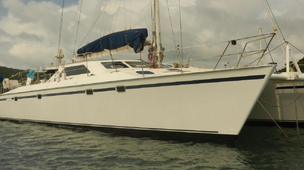 Catamaran G & B Mitchell Design NZ