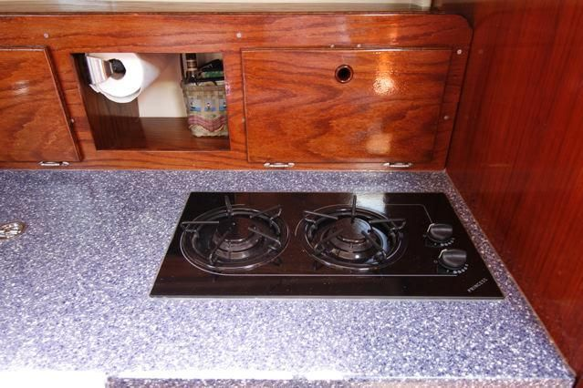 Pearson 36-2 New Princess Stove Top